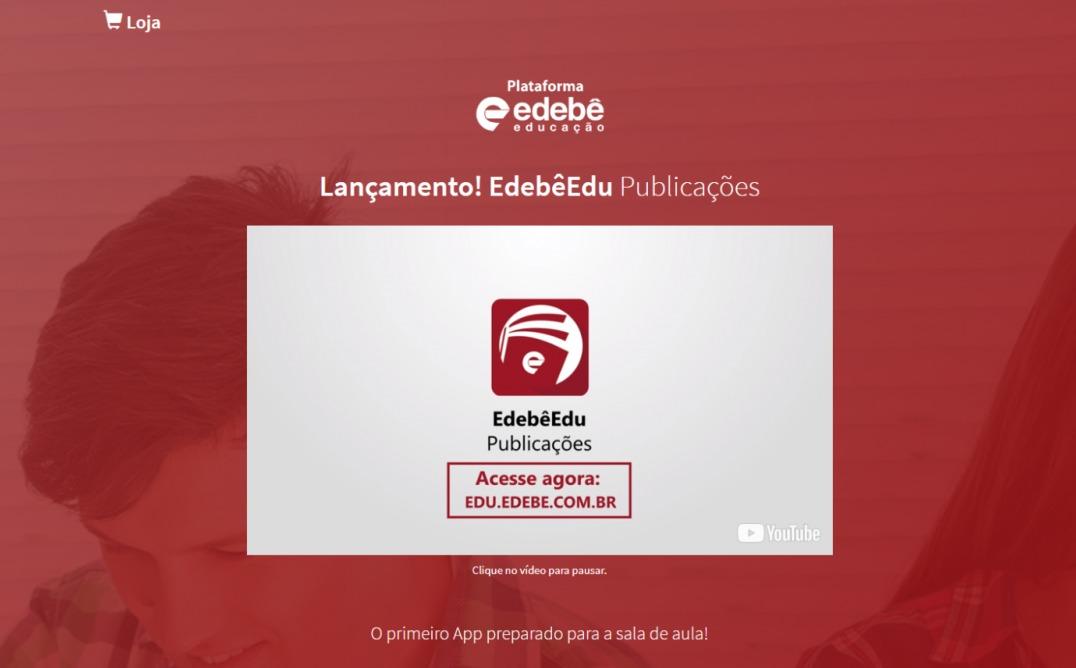 Novo App Edebê Publicações – Saiba mais…