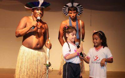 Dia do índio Salesiano é destaque na  mídia