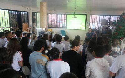 Responsabilidade socioambiental na sala verde