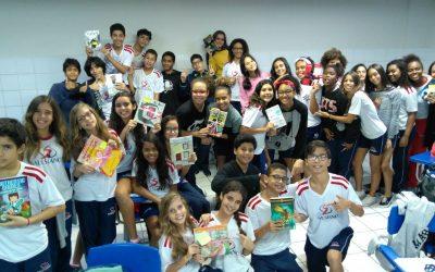 Projeto incentiva a leitura no dia do Livro