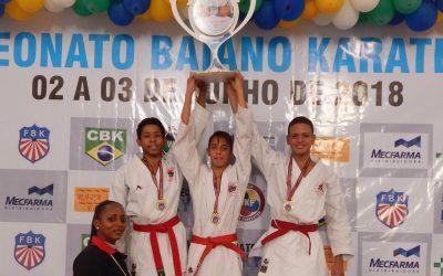 Estudante Campeão Brasileiro de Karatê