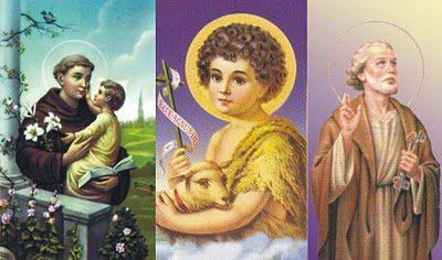 Você conhece os Santos de Junho?