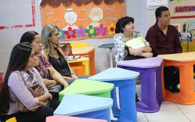 Semana de pais da educação infantil na escola