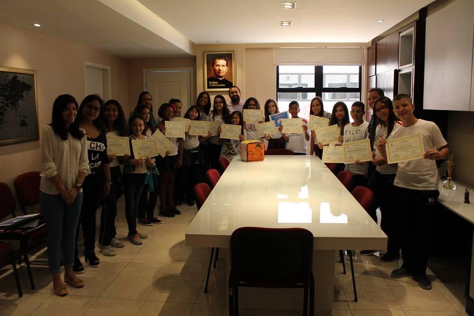 Estudantes Salesianos são diplomados embaixadores da paz