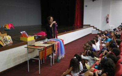 Feira literária Salesiana aproximou crianças e jovens da leitura