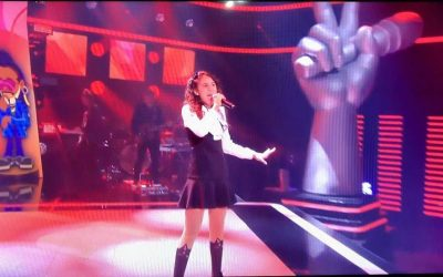 Luannah Novaes, aluna SDB, no The Voice Kids