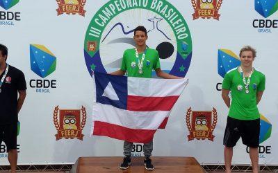 Aluno SDB Campeão Brasileiro de Natação