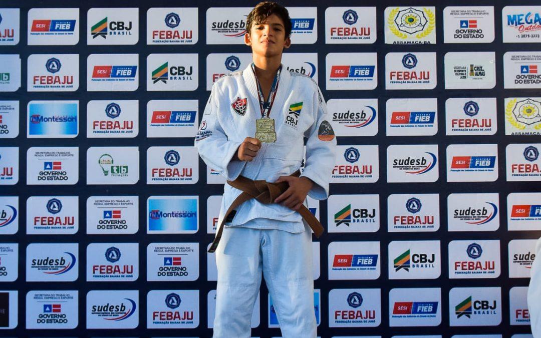 Judocas SDB medalhistas de ouro