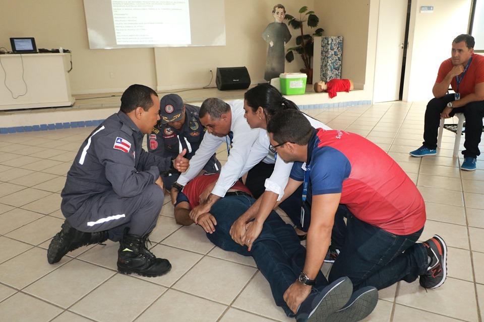 Salesiano recebe Corpo de Bombeiros para curso de Primeiros Socorros