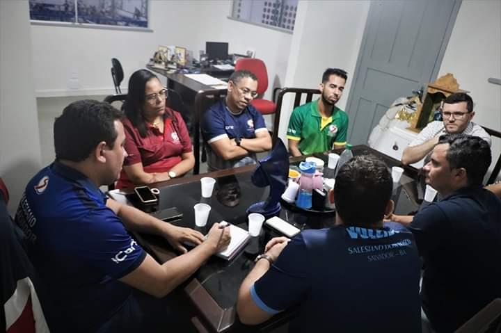 Comissões Salesianos Bahia e Salesiano Aracaju se reunem para avaliar o Jinpas