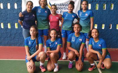 Equipe Feminina de Handebol campeã do FEEPS