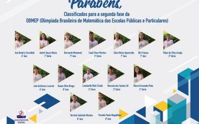 Medalhistas Salesianos Dom Bosco no Concurso Canguru de Matemática Brasil