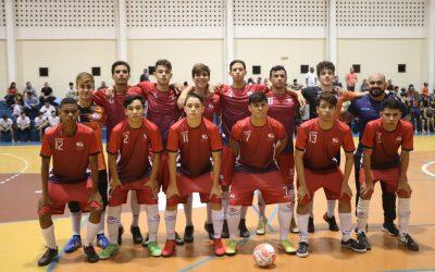 Time de Futsal do Salesiano Dom Bosco campeão do JOCOPAR