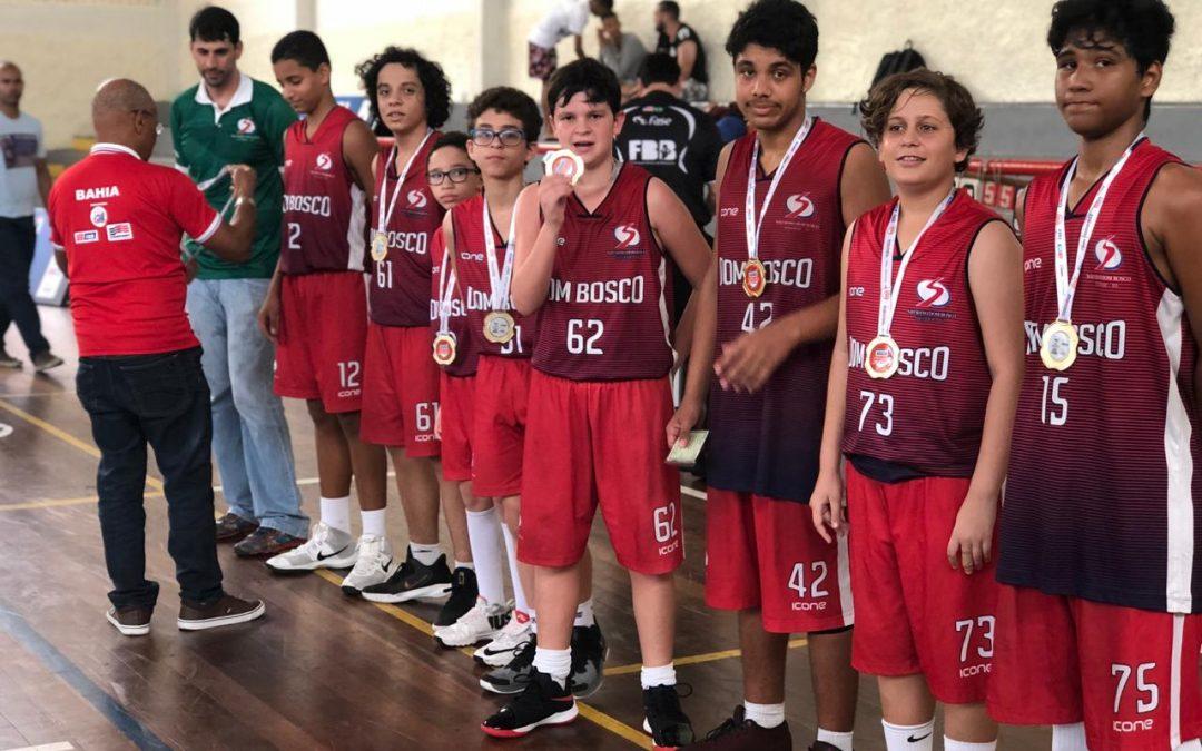 Salesiano Dom Bosco nos Jogos Escolares da Bahia 2019