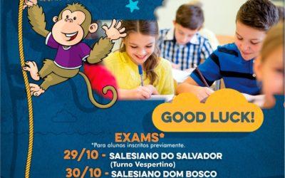 Salesianos Bahia irão sediar os Exames da Cambridge English, Young Learners (YLE)