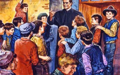 Uma escola, pra ser salesiana/ Tem que ser educadora da fé…