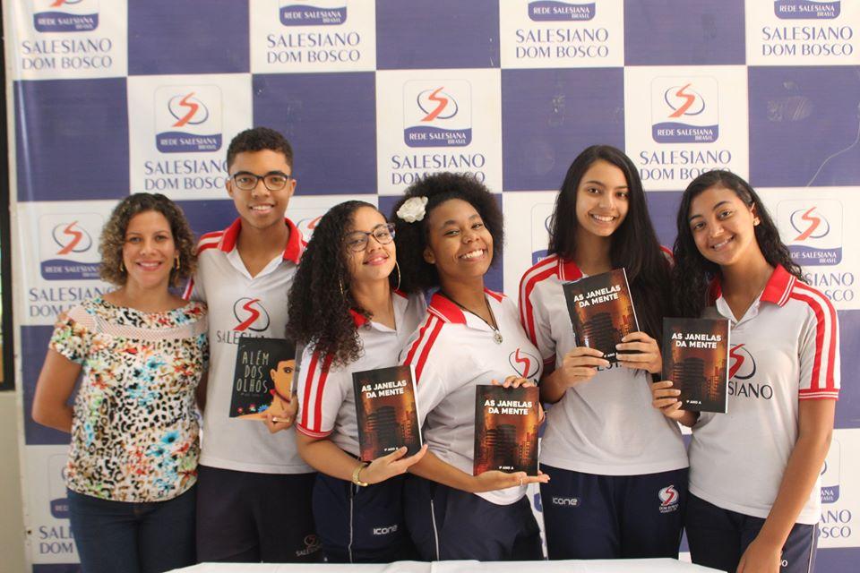 Alunos do Colégio Salesiano Dom Bosco publicam livros