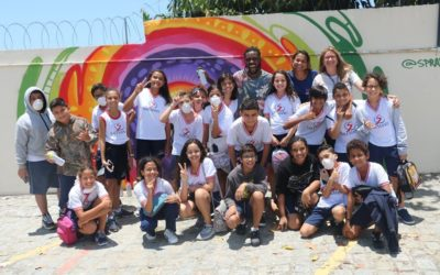 O Grafitti no Colégio Salesiano Dom Bosco