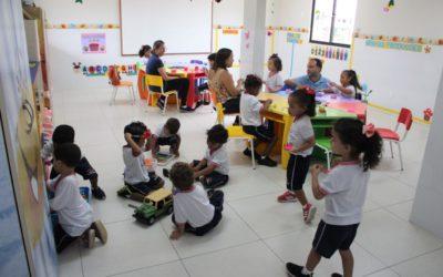 Acolhimento de alunos da Educação Infantil G1 ao G5