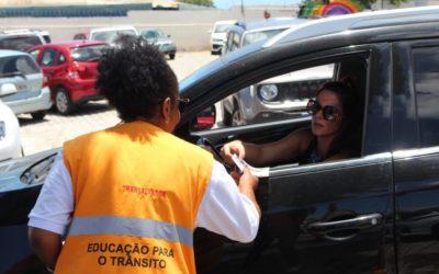 Operação Volta às aulas: Educação para o trânsito