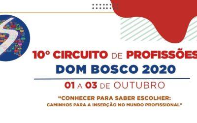 Circuito de ProfissõesDom Boscopromove Interação entre profissionais de Instituições de Ensino Superior e estudantes
