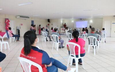 Educadores dos Salesianos Bahia participam de palestra do Outubro Rosa