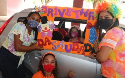 'Drive-Thru da Lembrança' marca homenagem ao Dia das Crianças dos Salesianos Bahia